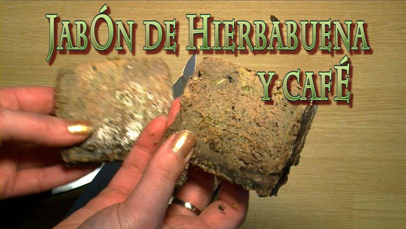 016. Jabón de hierbabuena y café con aceite usado