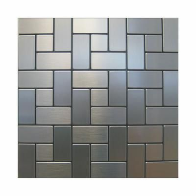 Inoxia Speedtiles California Mosaic Self Adhesive Metal Tiles California Id677 1 Home