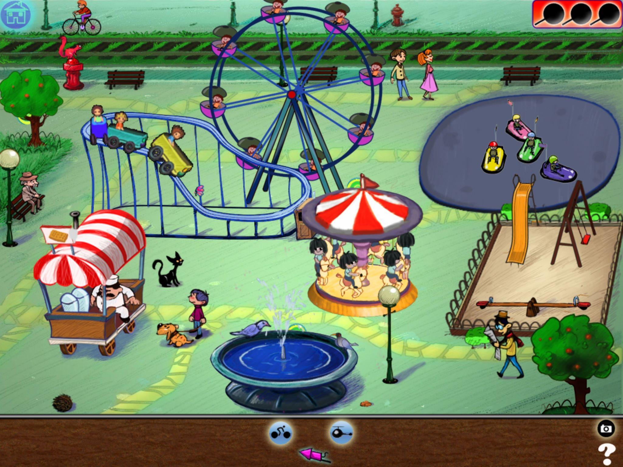 Fun fair drawing doodle funfair previous next fun fair
