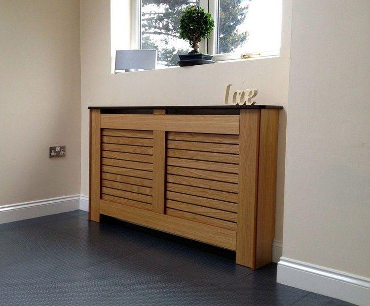 Cache radiateur - osez le bois afin de sublimer votre intérieur