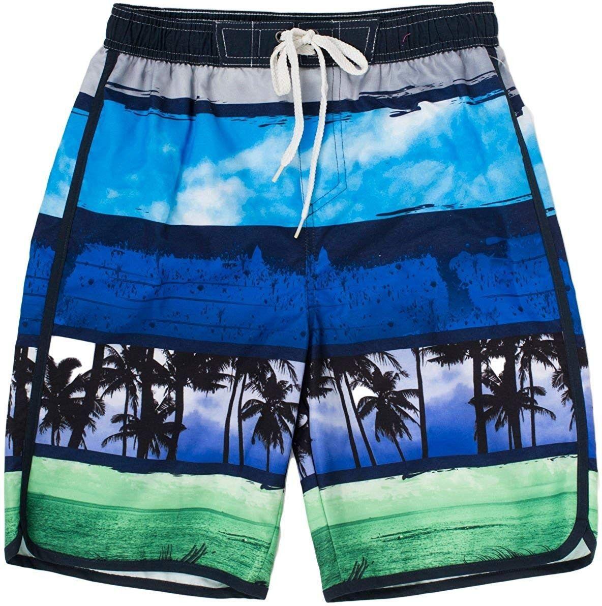#CK11UK30UKT #FitnessClothesforkids #Kids #navy #swim #Trunks Kid's Swim Trunks - Navy - 4 - CK11UK3...
