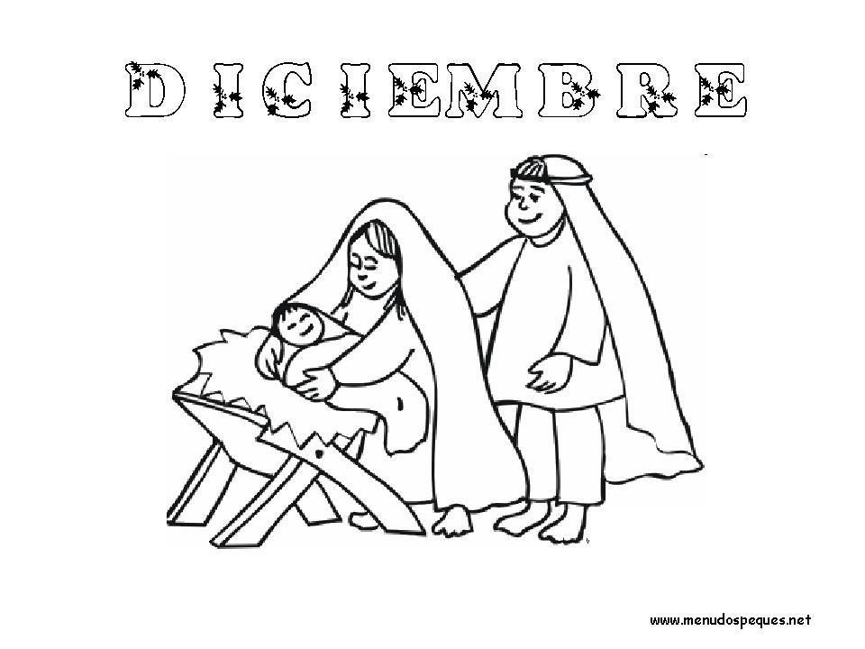 Colorear Meses del Año 12 - Diciembre | Meses del año, Diciembre y ...