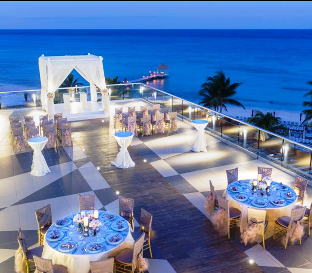 Azul Fives Wedding | Amazing Sky Wedding Receptions Azul Fives Www Shellistravel Com
