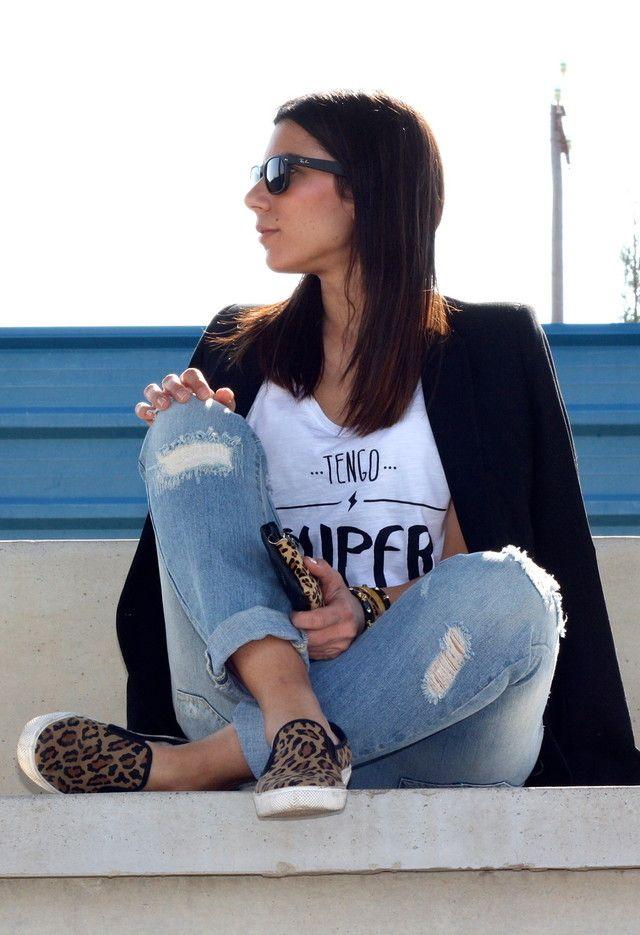 Street Style Zara Negro Otto Blazers Look Main Single