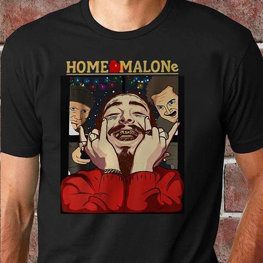 Post Malone Sad: Home Malone Post Malone Christmas Gift For Fan T-shirt