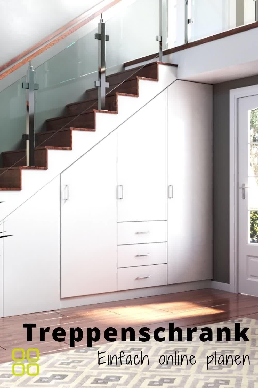 Treppenschrank nach Maß online günstig kaufen | 3D Konfigurator von schrankwerk.de