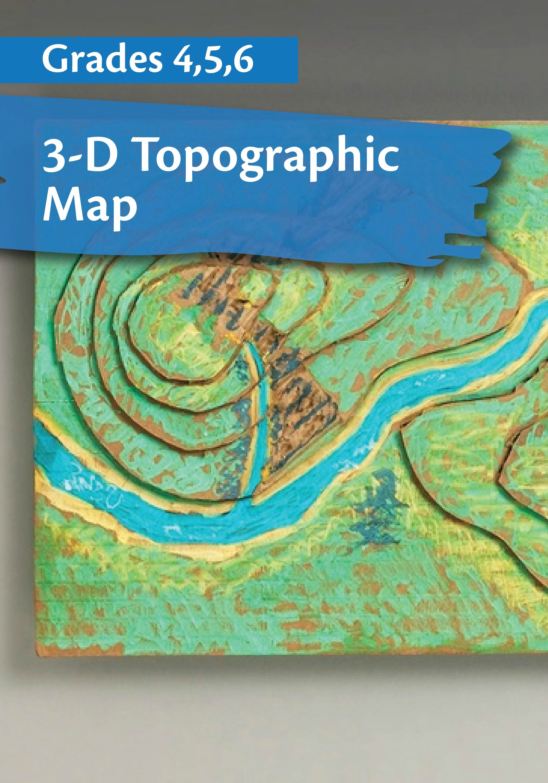 hight resolution of Contour Maps on crayola.com   Map activities