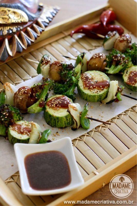 Healthy Eating Grilled Vegetables Comida Saudável Espetinho De Legumes Fácil E Reapido De Fazer Healthyfood Receitas Espetinho Ideias Para Cozinha