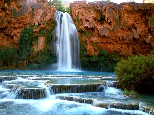 Havasu Falls - hidden oasis in Arizona