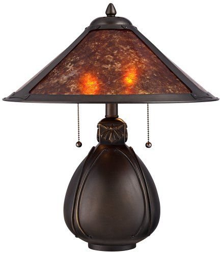 Nell Arts And Craft Pottery Mica Shade Table Lamp Universal Lighting And Decor Http Www Amazon Com Dp B00bjkqt6e Ref Art Table Lamps Pottery Lamp Table Lamp