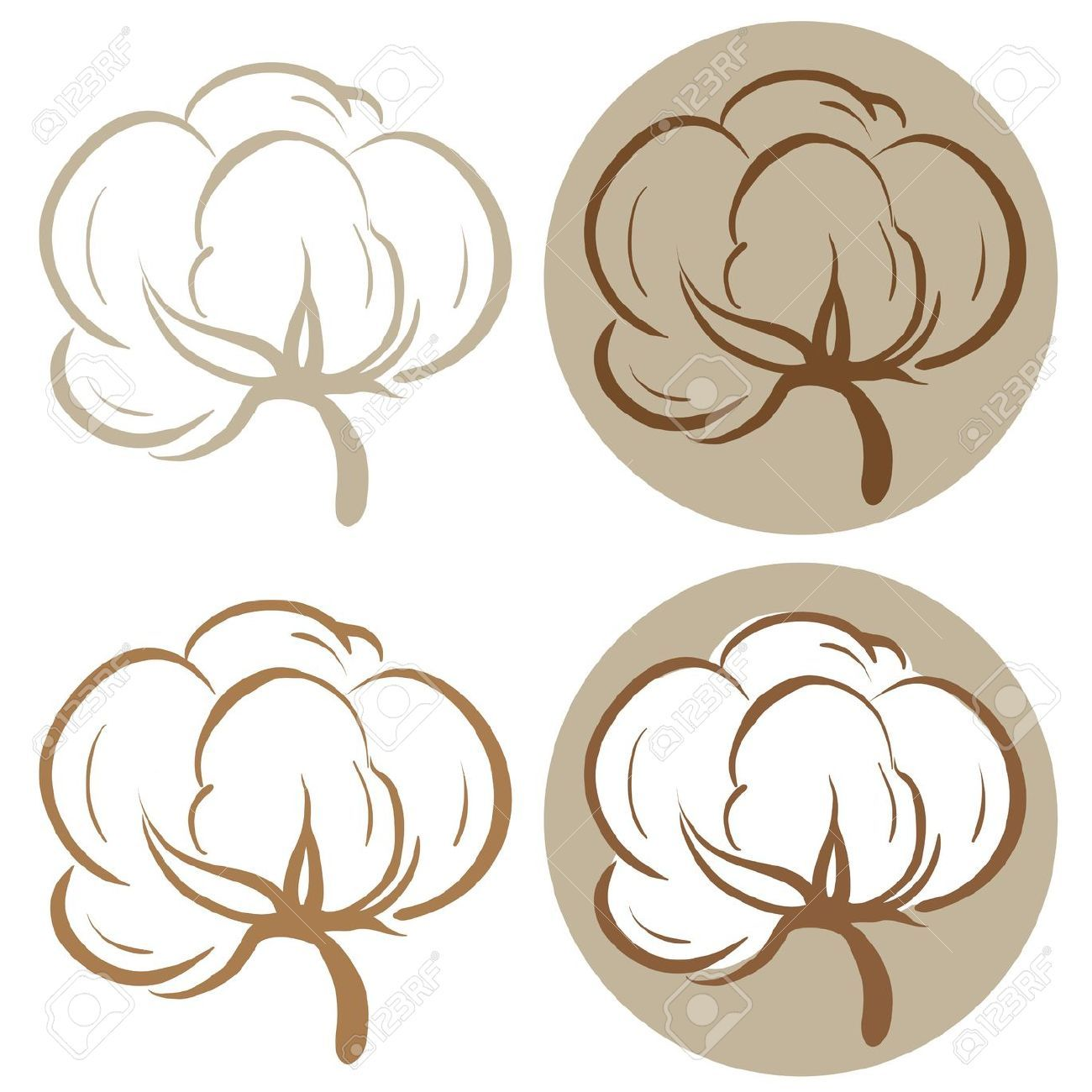 Pin De Karla Portillo En Tattoos Planta De Algodon Logo De Spa Disenos De Unas