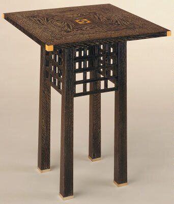 Side Table Josef Hoffman Arts And Crafts Furniture Modernist Furniture Design