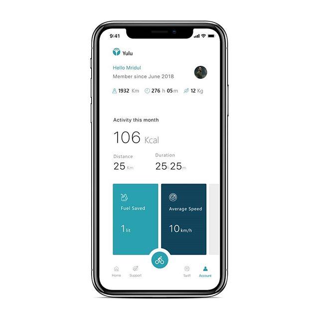 Ashish Goswami V Instagram Yulu Bike Rental App Redesign Uiux Uidesign Userinterfacedesign Userexperiencedes Bike Rental User Experience Design Redesign