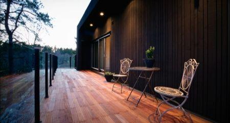 next house 3 maison en bois pinterest maison en bois moderne maisons en bois et en bois. Black Bedroom Furniture Sets. Home Design Ideas