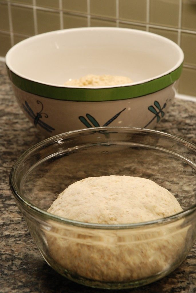 quick whole wheat pizza dough- I made this recipe and it's best to add salt, sugar and olive oil.