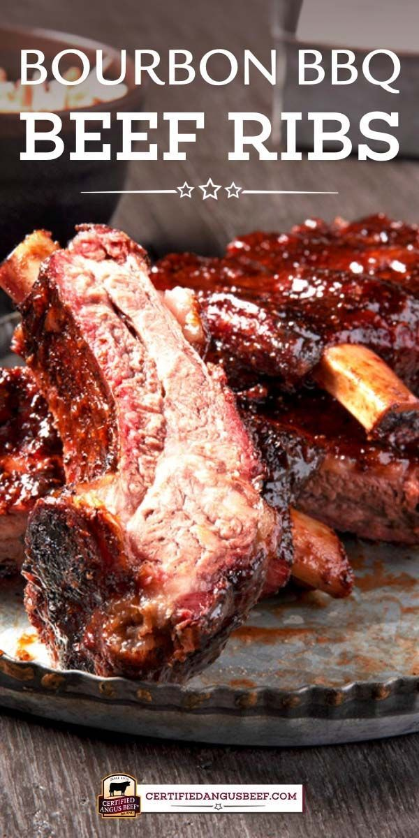 Bourbon Barbecue Beef Back Ribs In 2020 Beef Back Ribs Best Beef Recipes Rib Recipes
