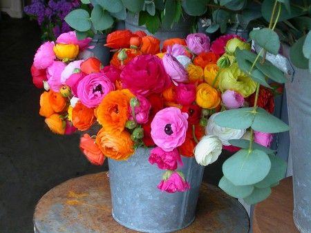 Bouquet londonien de #renoncules