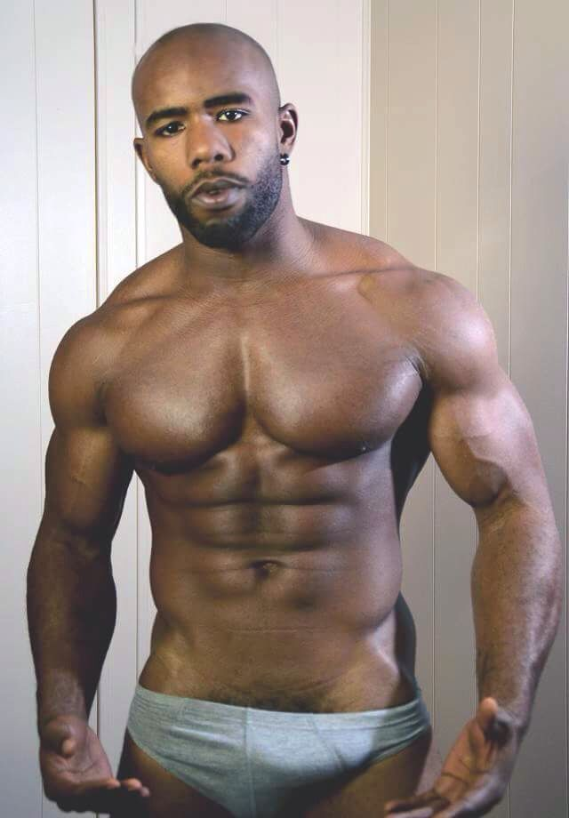 Young black and hairy