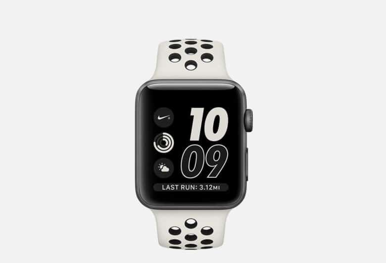 Nike Unveils New Apple Watch With Bone And Black Band Apple Watch Nike New Apple Watch Apple Watch Series
