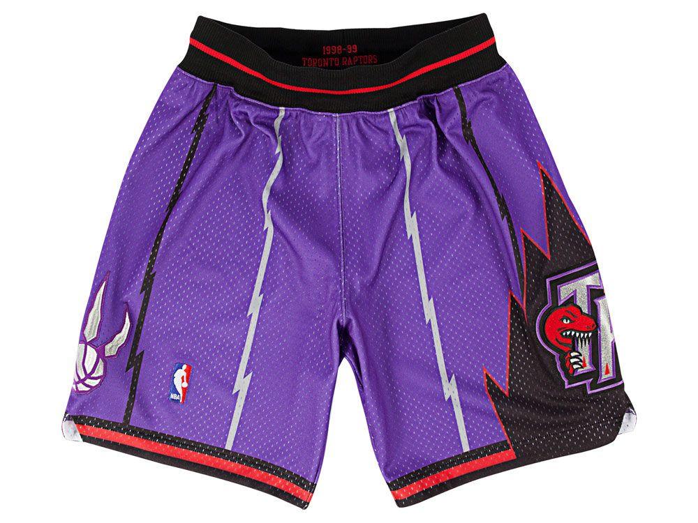 Toronto Raptors Mitchell And Ness Nba Men S Authentic Nba Shorts Nba Fashion Basketball Shorts Womens Fashion Classy