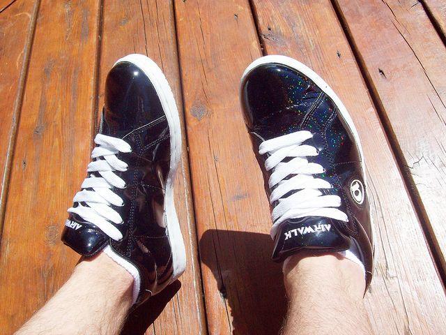 Airwalk Jim 3-D Plastic shoes (black
