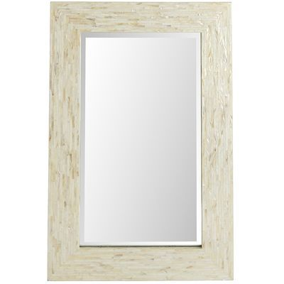 Ivory Mother-of-Pearl Floor Mirror. FOR ENTRYWAY. AND A HUGE FLOOR ...