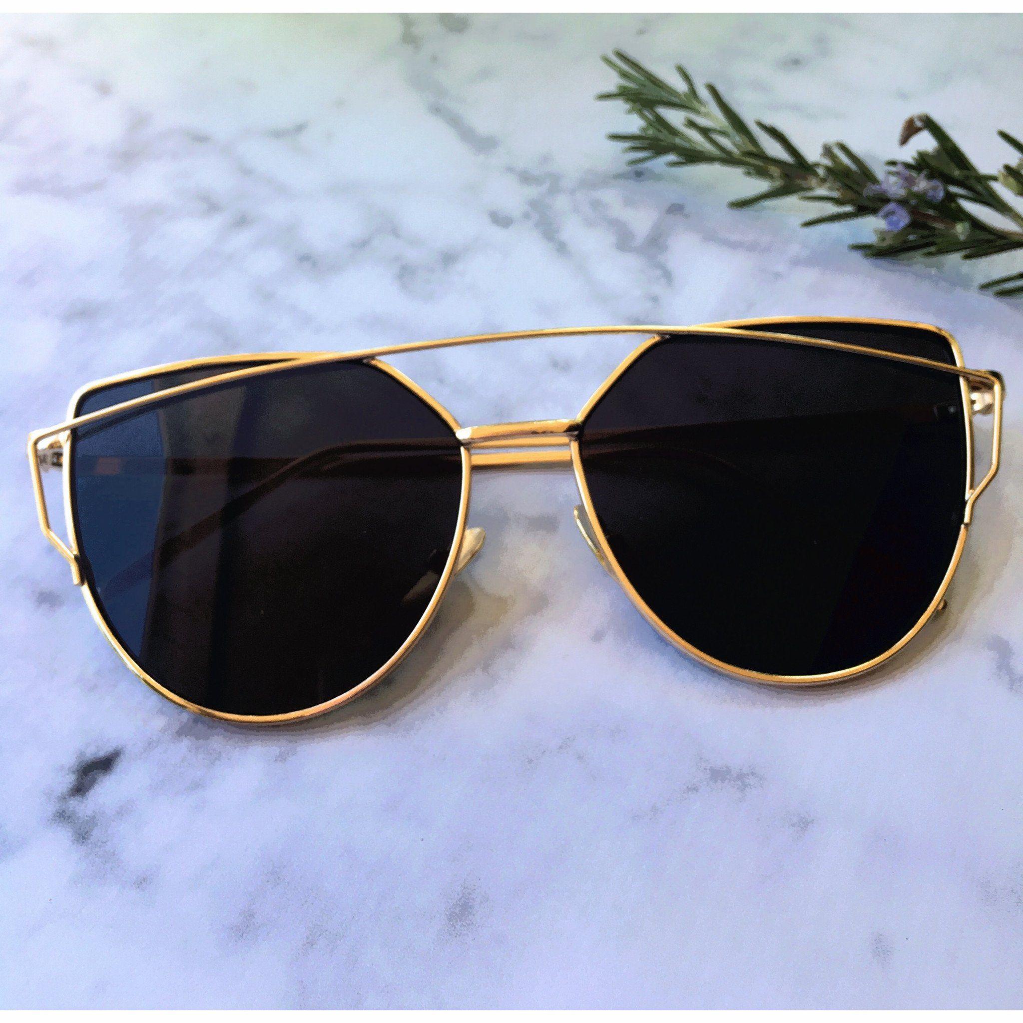 cliente primero elegir original super servicio Silver On Gold Mirrored Sunglasses | Lentes y algo mas... en ...