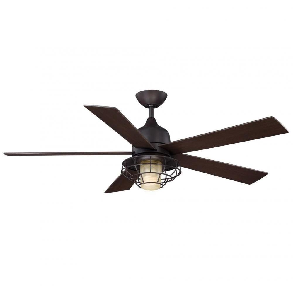 Illumine Gigg 52 In English Bronze Indoor Outdoor Ceiling Fan Cli Sh0237850 The Home Depot Ceiling Fan Bronze Ceiling Fan Modern Ceiling Fan