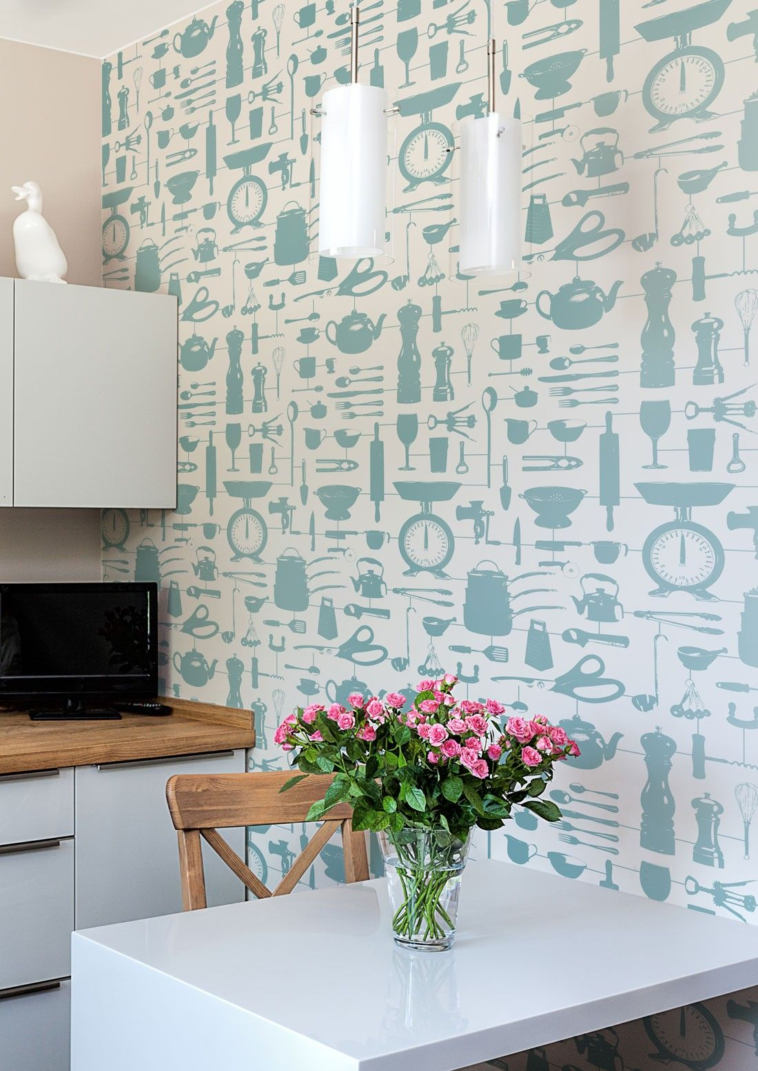Our Graduate Collection Airfix Kitchen Wallpaper designed by ...