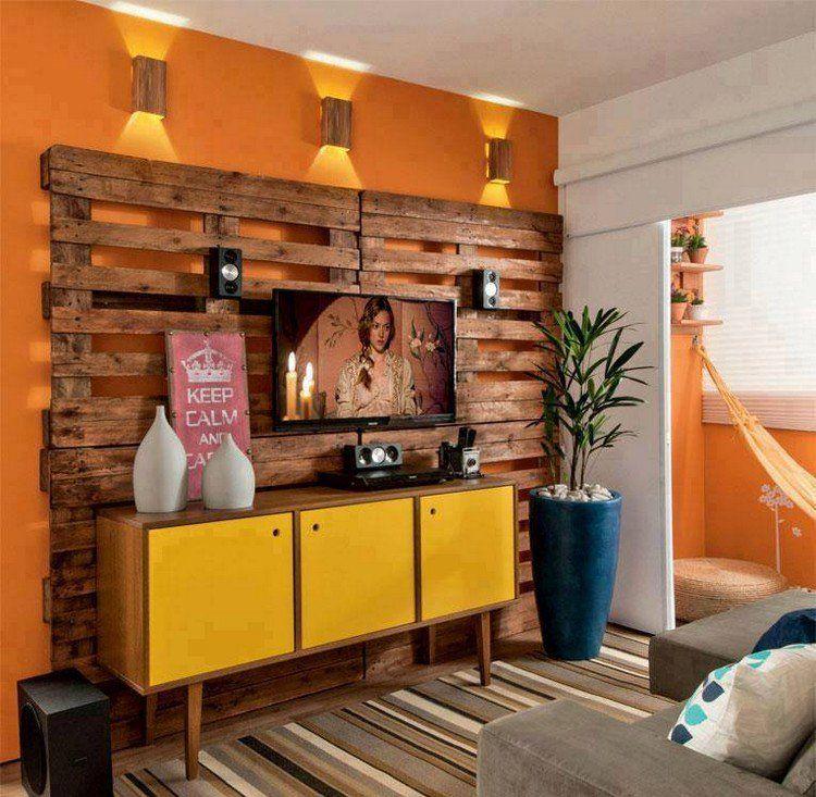 Faire des meubles avec des palettes en bois pour lu0027intérieur et l