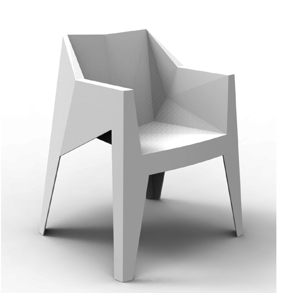 voxel chair set of 4 gardens