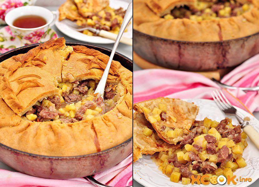 Пирог Зур бэлиш (балиш) - рецепт с фото, как приготовить ...