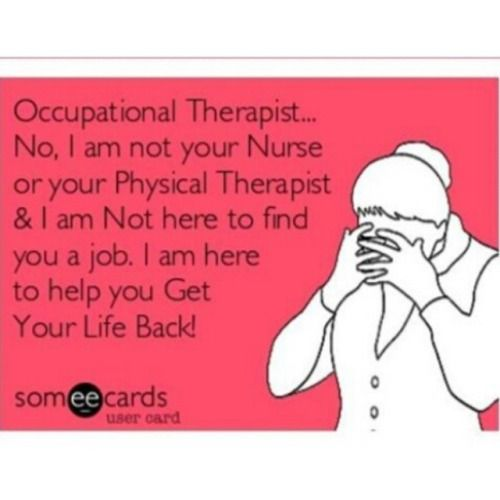 occupational therapy weblog Funnies! Pinterest Occupational - physical therapist job description