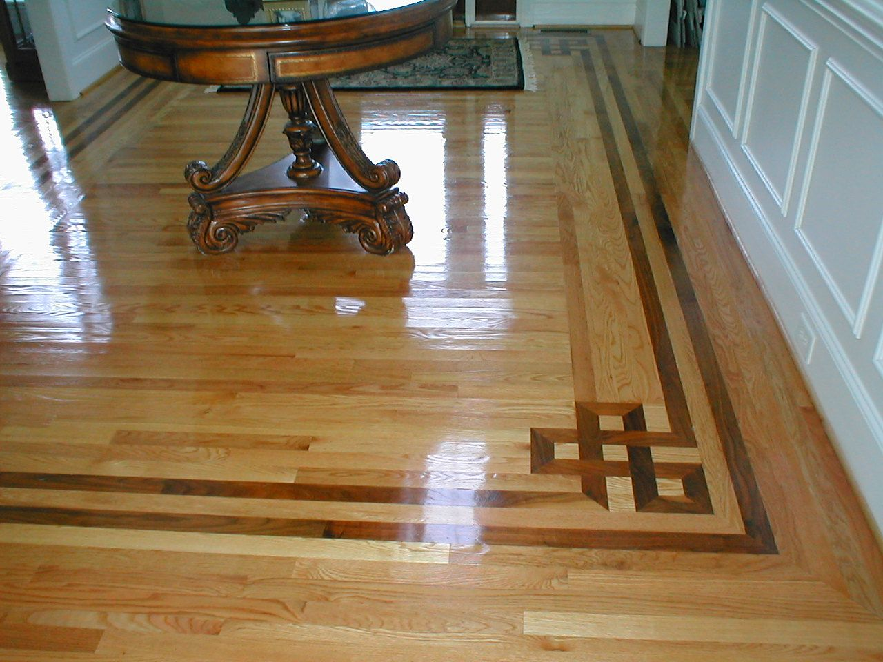 Interesting Hardwood Flooring Pattern Ideas For Or To Cover A Wall ...