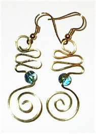 Cool spirals! | Jewelry Making | Pinterest | Frauen accessoires ...