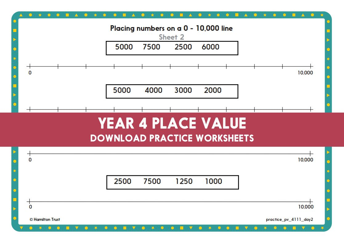 Year 4 Maths Place Value