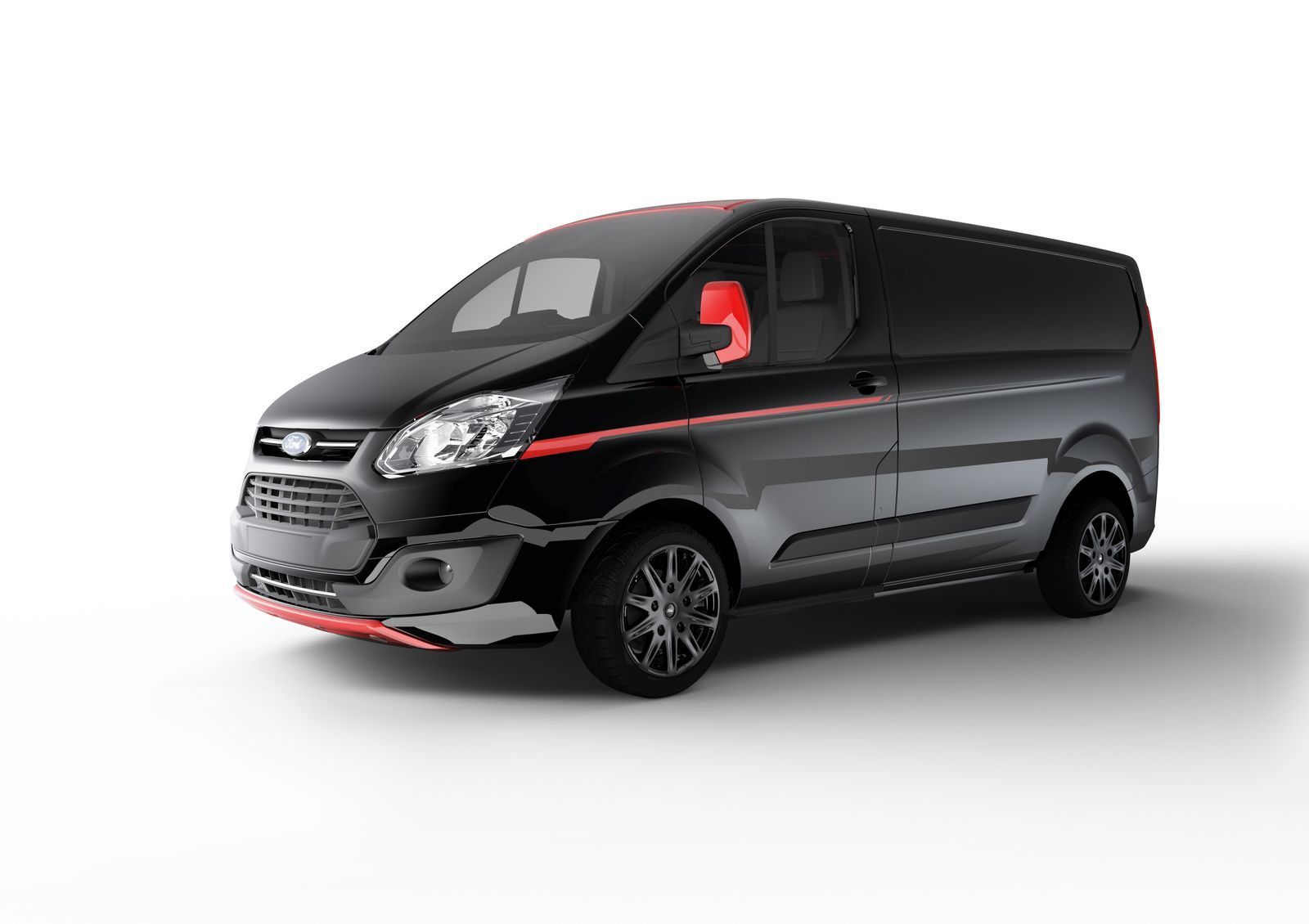 Ford Adds More Appeal To Transit With Custom Color And Sport