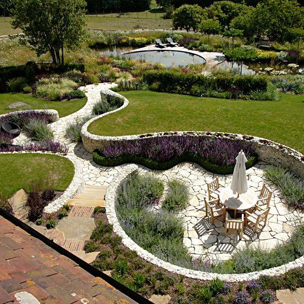 Sussex garden by ian kitson landscape by design for Landscape design sussex