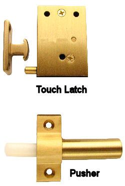 Charmant Invisible Touch Latch For Full Size Doors.