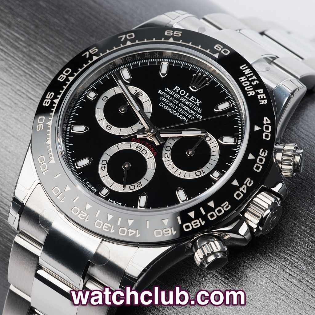 9e20a845f8c Rolex Cosmograph Daytona 16500LN - for sale at Watch Club
