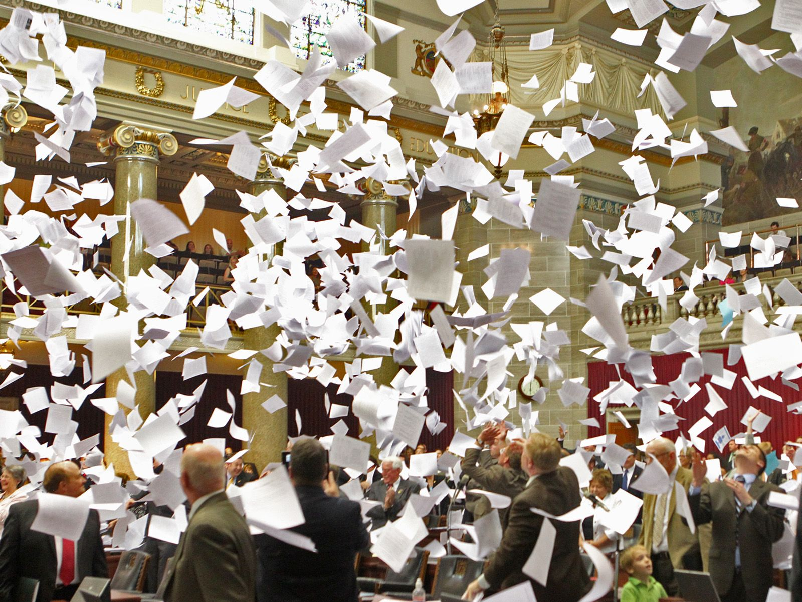 Image result for throw paper in the air