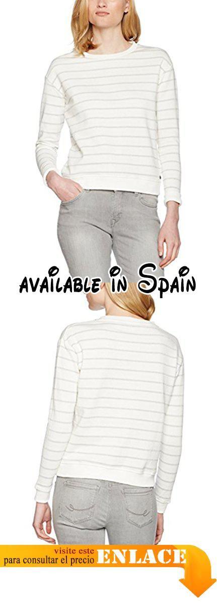 Garcia B70260, Sudadera para Mujer, Blanco (Silver 2109), 42(Talladelfabricante:L)