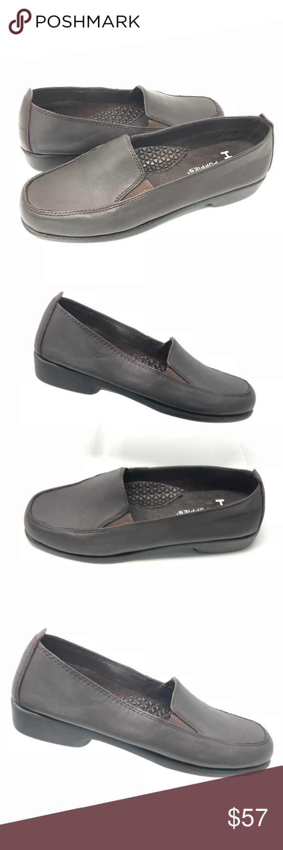 Hush Puppies Heaven Brown Slip On Loafer Hush Puppies