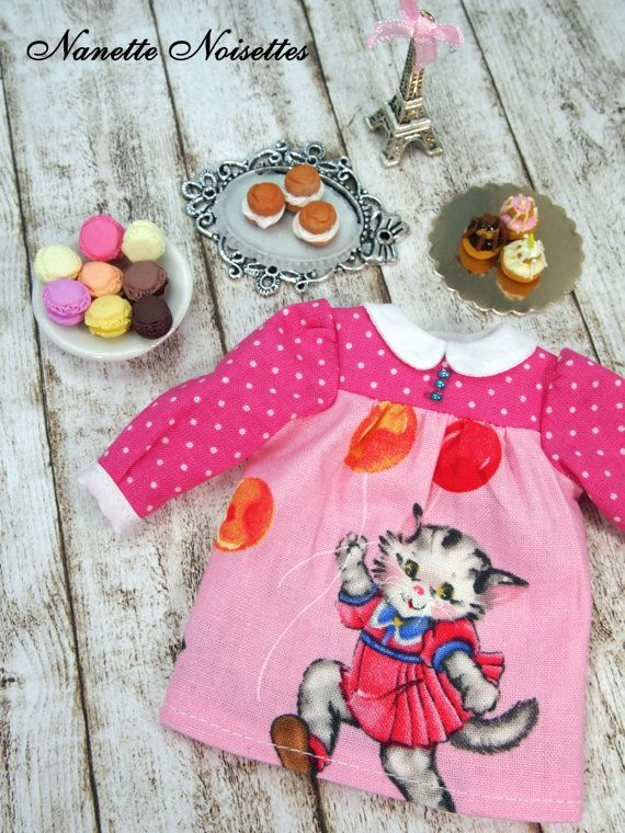 Nanettes Noisettes Blythe Another Cats Dress