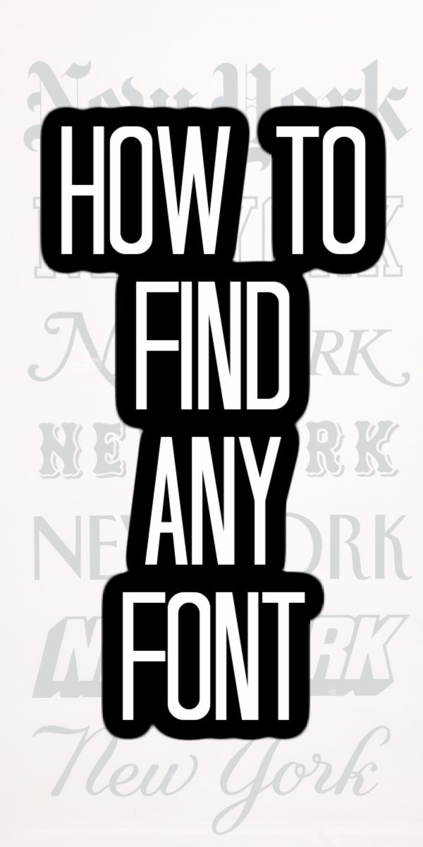 The Best Way To Find A Font From A Picture Cricut Fonts Fonts Cricut Tutorials