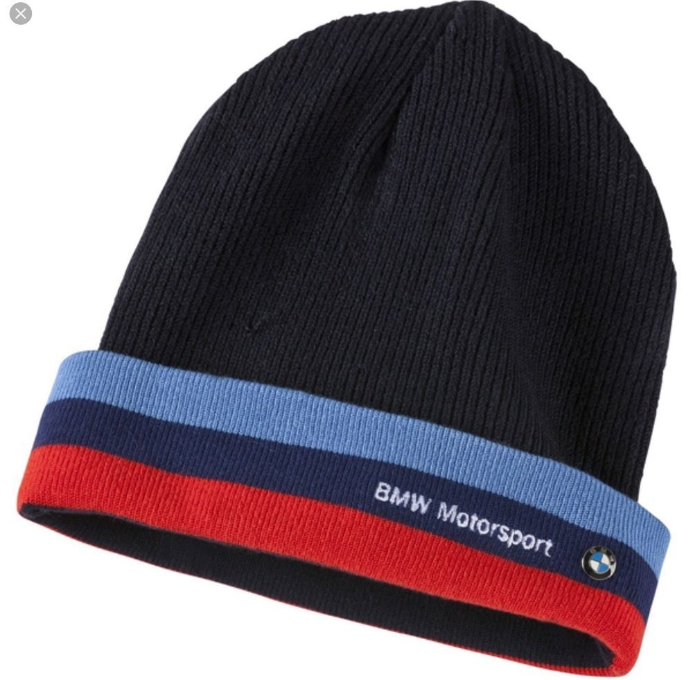 97444b3e7a788 PUMA BMW Motorsport Team M Power Series Blue Beanie Winter Ski Hat NEW Cap   PUMA  Beanie