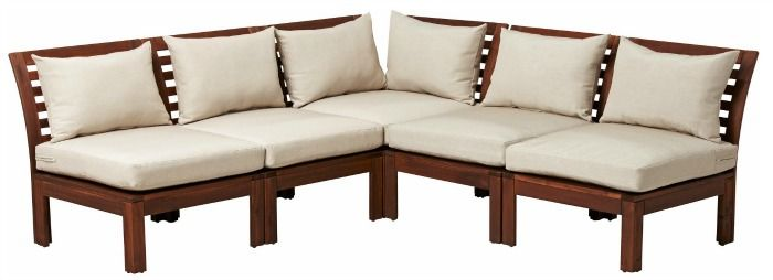 Ikea S Laro Outdoor Sectional One Of The Inexpensive Options In This Post