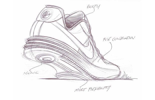 Nike Lunar Force 1 - 25 Must-See Design Sketches of Your Favorite Sneakers |