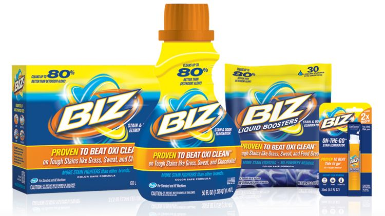 Why Biz Stain Fighter Is My New Favorite Laundry Detergent Stain