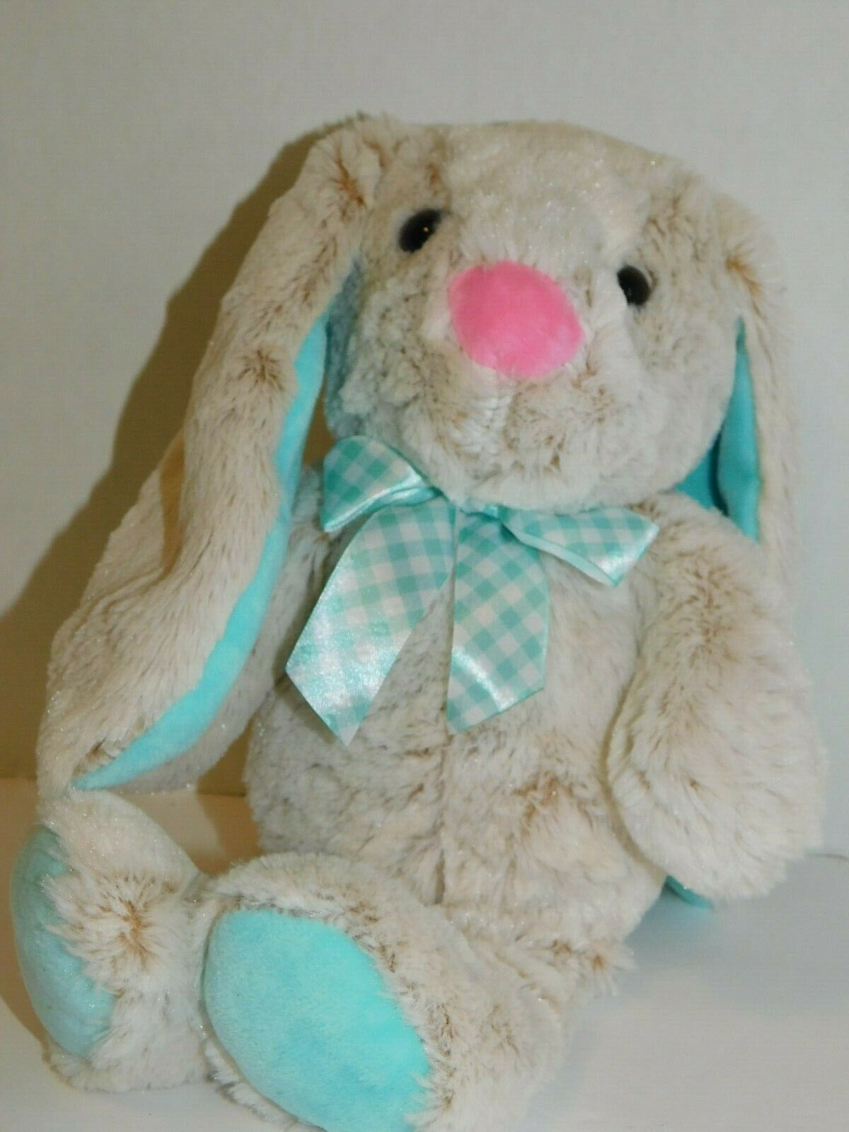 Easter Bunny Rabbit Stuffed Plush Animal 14 Inches Long Ears 49022075177 Ebay Animal Plush Toys Big Stuffed Animal Bunny Plush [ 1600 x 1200 Pixel ]
